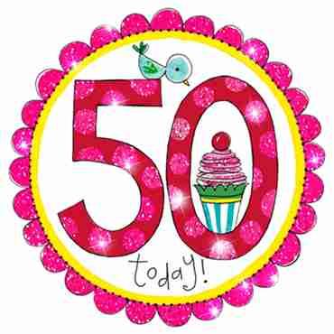50 Perfect Pink Badge