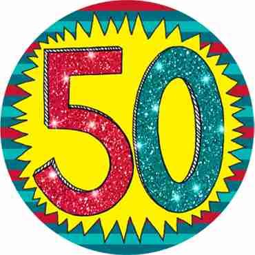 50 Wow Badge