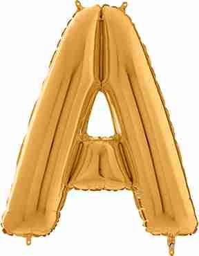 A Gold Foil Letter 26in/66cm