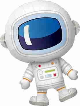 Adorable Astronaut Foil Shape 37in/94cm