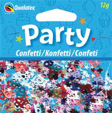 Age 18 Multi-Coloured Confetti 12g