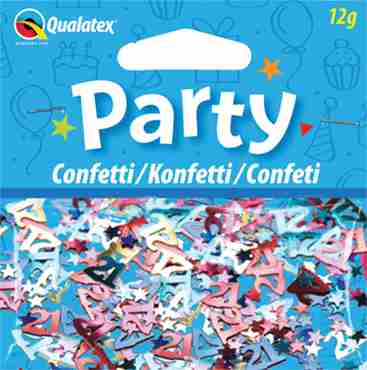 Age 21 Multi-Coloured Confetti 12g