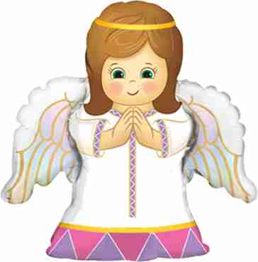 angel girl foil shape 14in/35cm