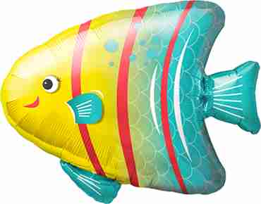 Angelfish Foil Shape 14in/36cm