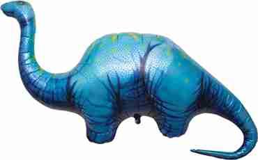 Apatosaurus Foil Shape 51in/130cm