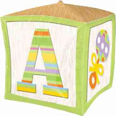 baby block cubez 15in/38cm x 15in/38cm