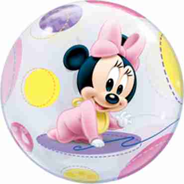 Baby Minnie Single Bubble 22in/55cm