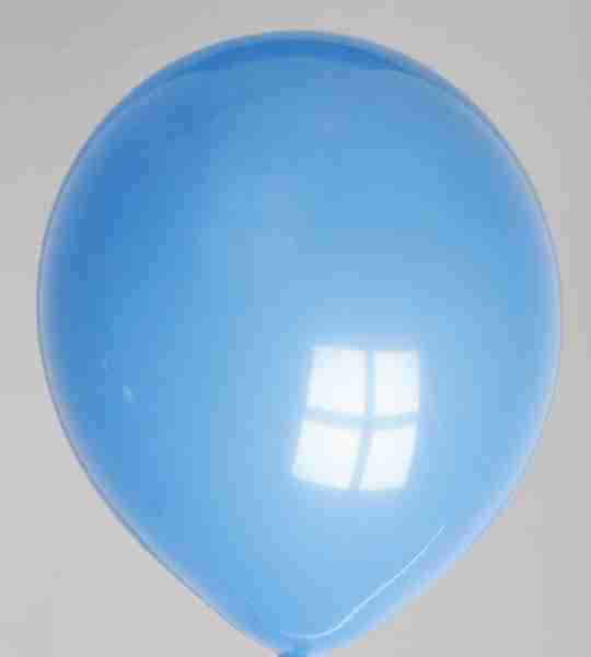 ballon 30cm donkerblauw