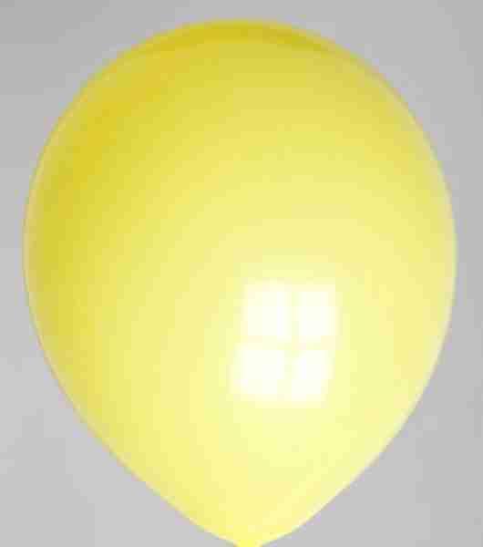 Ballon 30cm geel