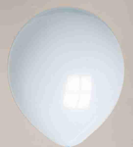 Ballon 30cm lichtblauw