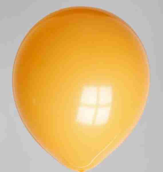 Ballon 30cm oranje
