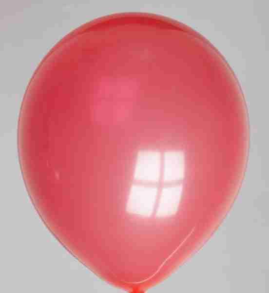 ballon 30cm rood
