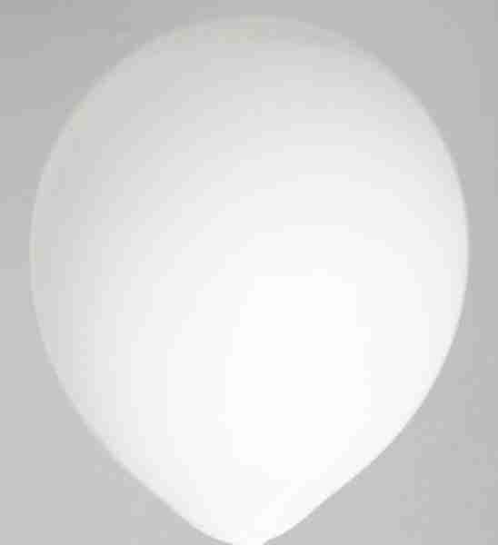 Ballon 30cm wit