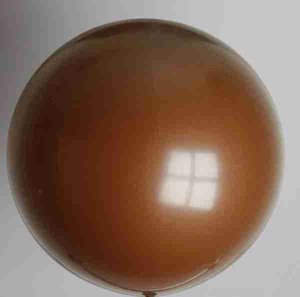 ballon 90cm koffiebruin