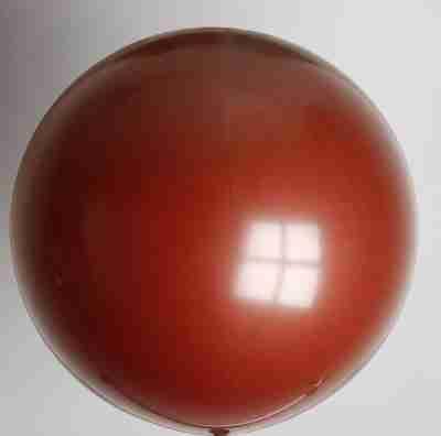 ballon 90cm kristal bordeaux