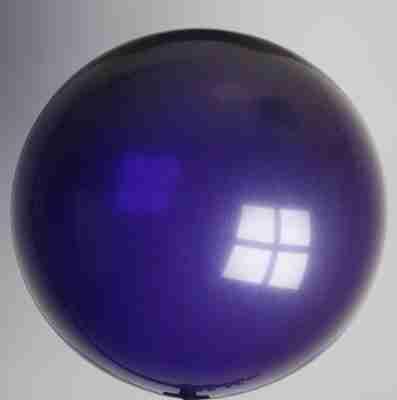 ballon 90cm kristal donkerpaars