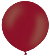 Ballon 90cm metallic bordeaux