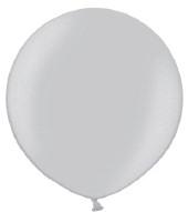 Ballon 90cm metallic zilver