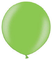 Ballon 90cm parel limoengroen