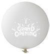 Ballon 90cm Transparant Grand Opening