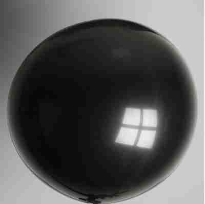 ballon 90cm zwart