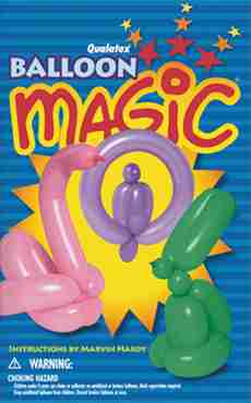 Balloon Magic Paperback Book