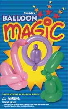 Balloon Magic Paperback Book