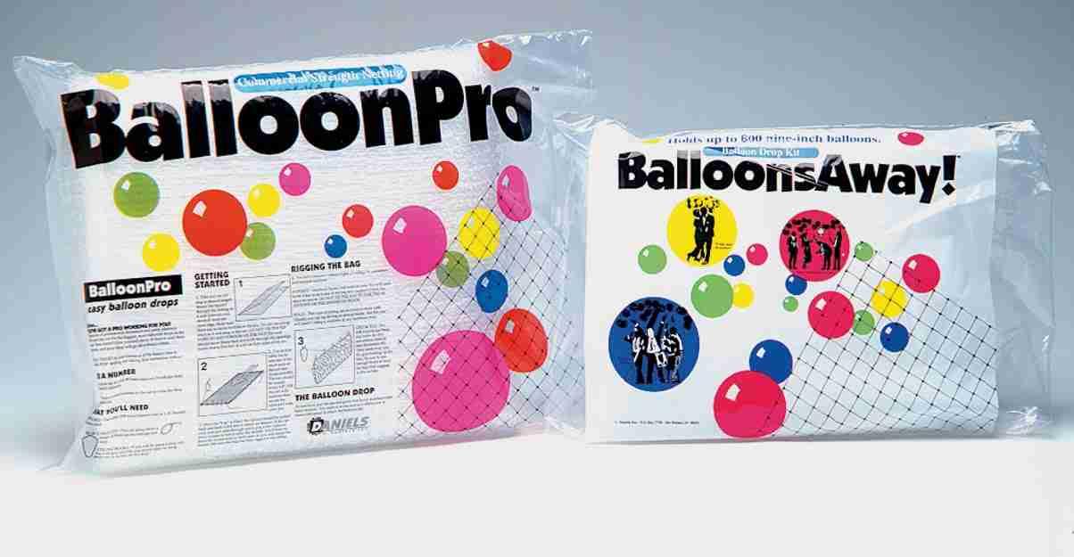 BalloonPro Clear Netting 1300 Dropnet 390cm x 1500cm