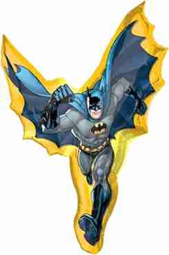 batman action foil shape 27in/69cm x 39in/99cm