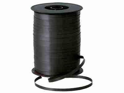 Black Curling Ribbon 5mm x 500m