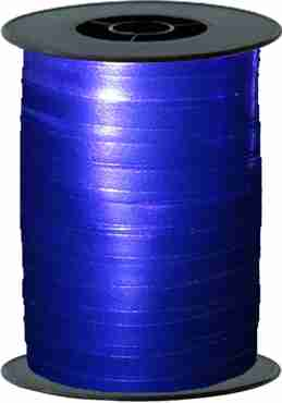 Blue Metallic Curling Ribbon 10mm x 250m