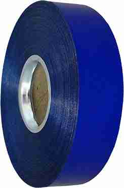 Blue Metallic Curling Ribbon 31mm x 100m