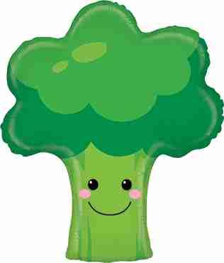 Broccoli Foil Shape 26in/66cm