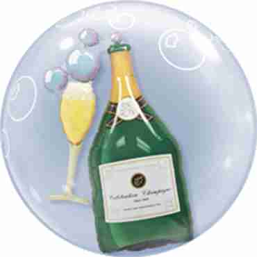 Bubbles Champagne Double Bubble 24in/60cm
