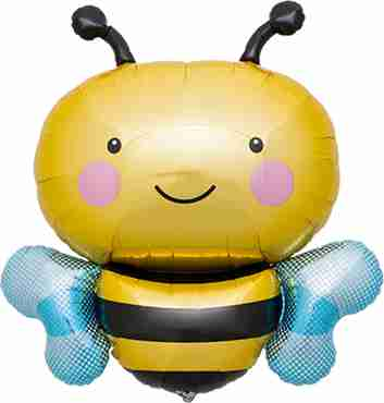 Bumble Bee Foil Shape 36in/91cm
