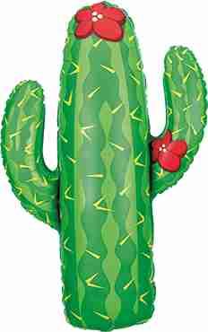 Cactus Foil Shape 41in/104cm