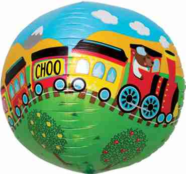Choo Choo Train Sphere 17in/43cm