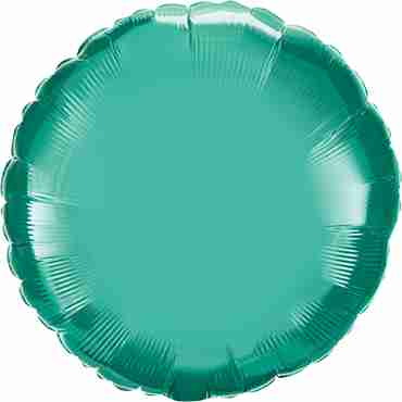 Chrome Green Foil Round 18in/45cm