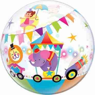 Circus Panda Single Bubble 22in/55cm