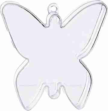 Clear Butterfly Weight  12g fillable