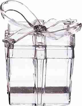 Clear Present With Bow Weight 22g fillable