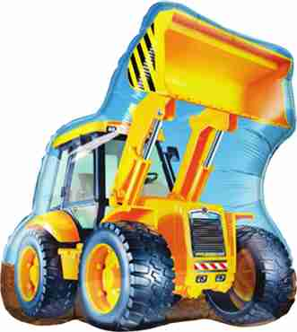 construction loader foil shape 32in/80cm