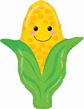Corn Foil Shape 27in/69cm