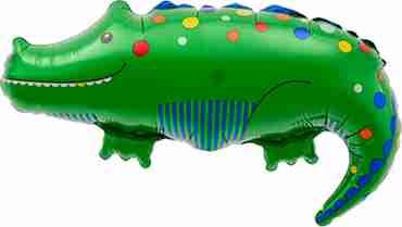 Crocodile Foil Shape 36in/91cm