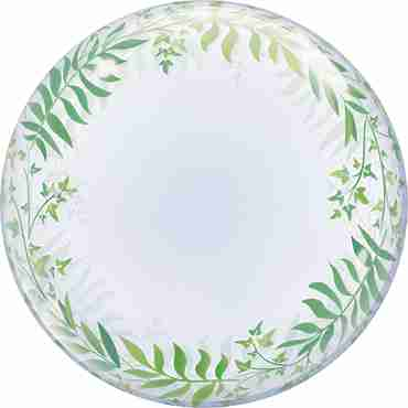 Deco Bubble Elegant Greenery 24in/60cm