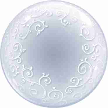 Deco Bubble Fancy Filigree 24in/60cm