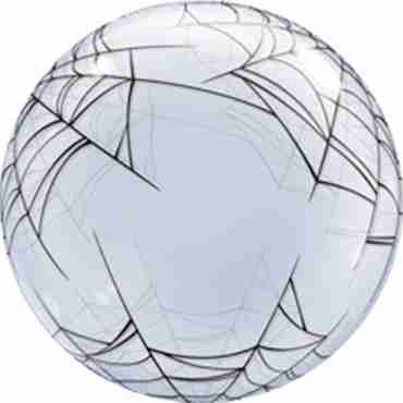 Deco Bubble Spider's Web 24in/60cm