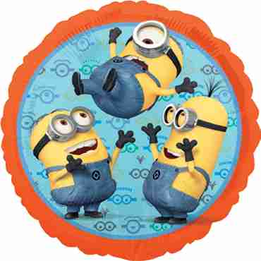 Despicable Me Vendor Foil Round 18in/45cm