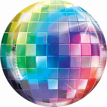 Disco Ball Orbz 15in/38cm x 16in/40cm