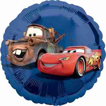 Disney Cars Vendor Foil Round 18in/45cm